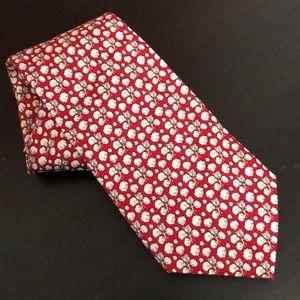 Vinyard Vines Custom Collection cotton boll tie